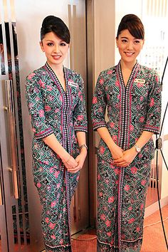 Malaysian Airlines cabin crew