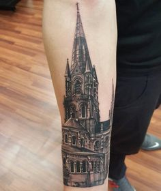 40 incredible lighthouse tattoo designs tattoo designs for Gothic city tattoos