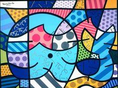 Romero Britto diz que sua arte tem a alegria do carnaval