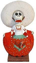 """""""Traditional Dancer Day of the Dead...    $9.95"""