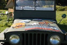 Main Line Overland - Sponsor of the Vermont Overland Rally - 1947 Willys