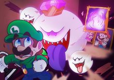 Luigis Mansion 3 by TemmieSkyie on DeviantArt Super Mario And Luigi, Super Mario World, Super Mario Brothers, Mario Bros., Luigi Mansion, Luigi's Mansion 3, Nintendo World, Nintendo Games, Luigi And Daisy