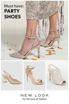 Step up your new-season looks with New Look's range of high heels. From metallic finishes to strappy styles, shop today with free delivery options. Womens High Heels, Must Haves, New Look, Heeled Boots, Shop Now, Autumn Fashion, Footwear, Template, Entertainment