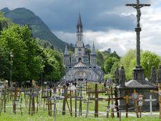 Die berühmte Basilika in Lourdes 2012  private Fotoaufnahme von Katharina Bach