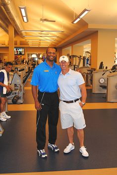 Richard Hollins and Coach Joey D...