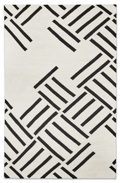 Shop the Hatch Geometric Handmade Kilim Ivory/Black Rug at Perigold, home to the design world's best furnishings for every style and space. Plus, enjoy free delivery on most items. Carpet Decor, Rugs On Carpet, Hall Carpet, Cheap Carpet, Carpet Ideas, Contemporary Area Rugs, Modern Rugs, Modern Carpet, Rugs