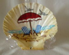 painted rocks with beach scenes wall - Google Search