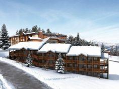 Ski pas cher à la Résidence Soleil Vacances Les Bergers Praloup 1600