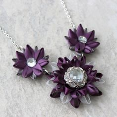 Hey, I found this really awesome Etsy listing at https://www.etsy.com/listing/213997460/statement-necklace-purple-necklace