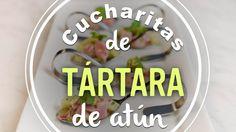 CUCHARITAS DE TÁRTARA DE ATUN | TUNA TARTARE | Kiwilimón