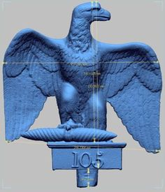 Napoleon's Eagle Standards 3D Printed in London to Commemorate the Battle of Waterloo