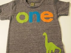 Dinosaur Shirt Boys Birthday Tee Organic Blend Third Customize Colors Add Name