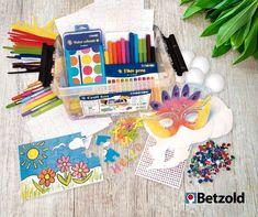 Kreativ Set für kleine Gruppen: Damit könnt ihr eure Kinder super beschäftigen. Mit dabei sind unter anderem Moosgummi Buchstaben, Malpuzzles, Pappmasken, Filzstifte, Chenilledraht, Schmucksteine und mehr. Ideal z.B. für Vertretungsstunden oder die Stunden vor den Ferien. Puzzle, Super, Teaching Ideas, Gemstones, Cardboard Paper, Art Education Resources, Too Busy, Puzzles, Puzzle Games