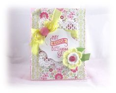 Card by Teresa Kline using Verve Stamps.