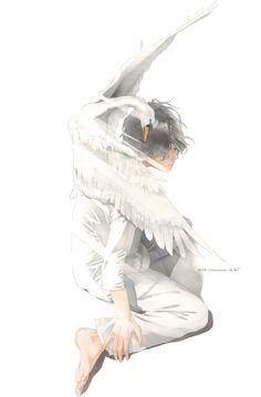 Birds and watercolor