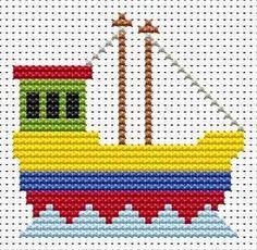 Κεντήματα με σχέδια για παιδιά, τραινάκι, αυτοκίνητο, βαρκούλα, Embroidery designs for kids, train, car, boat, Stickmuster für Kinder, Zug, Auto, Boot, Diseños de bordado para niños, tren, coche, barco