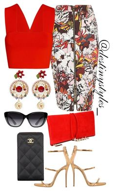 """Untitled #89"" by iamdestinnny on Polyvore featuring River Island, Dolce&Gabbana, Giuseppe Zanotti, Dsquared2, Elizabeth and James, A.L.C., Chanel, women's clothing, women's fashion and women"