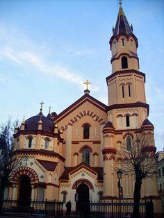 st. nicolas' orthodox church in vilnius, lithuania