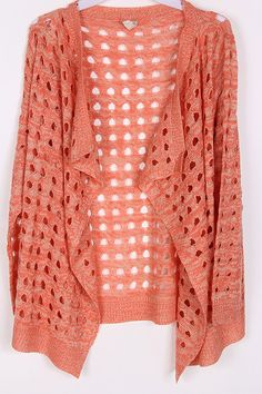 Laurie Sweater in Mocha on Coral