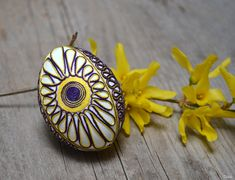 Delabi - my creation Eastern Eggs, Egg And I, Gemstone Rings, Brooch, Gemstones, Jewelry, Jewlery, Gems, Jewerly