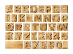 #wallpaper - Block Letters - rebelwalls.com