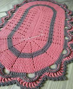 23 Best Ideas For Crochet Rug Oval Yarns Stitch Crochet, Single Crochet Stitch, Crochet Stitches, Thread Crochet, Crochet Afghans, Crochet Doilies, Tunisian Crochet, Irish Crochet, Crochet Carpet