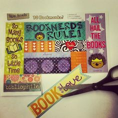 Free Printable Bookmarks: Summer Edition | Blog | Epic Reads