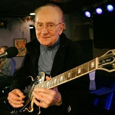 Today in 2009, Les Paul died in White Plains, New York at the age of 94