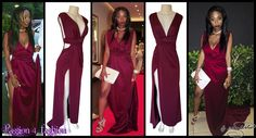 Burgundy crossed slit matric dance dress with one side tummy opening and a V neckline. Rouged belt and a train. Matric Dance Dresses, Prom Dresses, Formal Dresses, Prom Dance, Burgundy Dress, Dress Making, Custom Made, Evening Dresses, Neckline