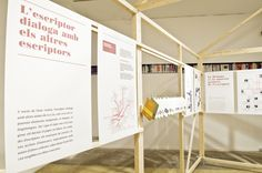 Un país de lletres. L'autor, el lector, l'obra i la Institució de les Lletres Catalanes @ Palau Moja, Barcelona 2012