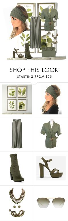 """""""I Love Olive..."""" by carolbowers ❤ liked on Polyvore featuring Ballard Designs, Valentino, CHARLES & KEITH, Chanel, Oliver Peoples and Etienne Aigner"""