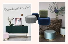 Poufs im Ethno-Stil? Auch schön! Alicja hat für uns die schönsten Sitzkissen in den neuen Materialien und Formen im schlichten Skandi-Stil rausgesucht.