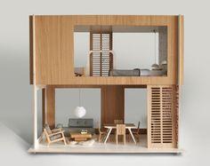 Modern Dollhouse via A Lovely Lark