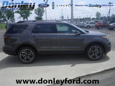 2015 Ford Explorer Sport 4WD SUV