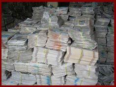 Do companies advertise in newsprint because they are small, or are they small because they advertise in newsprint?