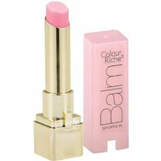 Colour Riche Balm, Pink Satin. Love love love! $5 a Target....it's a lot like Mac's Lip Conditioner....with a slight pink to it.