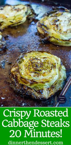 Crispy Roasted Cabbage Steaks make a great side dish for any meal (not just your. Crispy Roasted Cabbage Steaks make a great side dish for any meal (not just your favorite Corned Beef) in just 20 minutes. You& never boil cabbage again. Vegetable Side Dishes, Vegetable Recipes, Vegetarian Recipes, Cooking Recipes, Healthy Recipes, Keto Recipes, Veggie Recipes Sides, Grilling Recipes, Bread Recipes