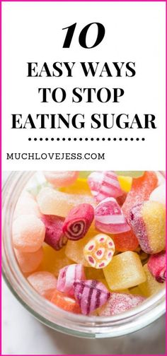 10 Easy Ways To Cut Out Sugar From Your Diet : Wondering how to quit sugar? Want to be healthy, feel good, and improve your health? Here are 10 tips to help you stop eating sugar so that you can lose weight and stick to your healthy diet plan! Healthy Diet Tips, Health Diet, Health And Nutrition, Healthy Kids, Healthy Weight, Holistic Nutrition, How To Be Healthy, Nutrition Apps, Potato Nutrition