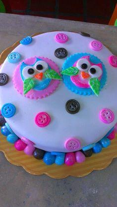 tortas decoradas infantiles de buhos nenas - Buscar con Google