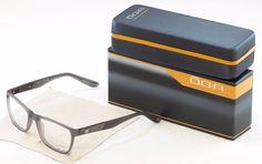 Authentic New OGA Morel Eyeglasses Frame 71950 GG013 Plastic Matt Gray France #OGA