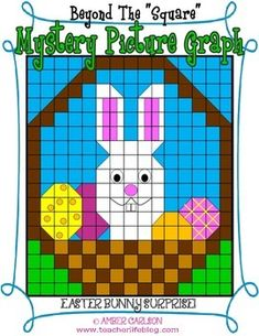 The perfect Mystery Picture Graph for Upper Elementary students for Easter, April, and Spring! This graph asks students to do more than just color simple squares- they are challenged to do circles, triangles, rectangles, and more!