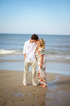 VIVIAN & SETH 💍 Outer Banks Engagement Photo Session - Corolla Light Resort - Corolla, NC - OBX