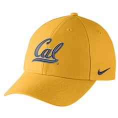 cd8d9f7cf69 California Golden Bears Nike Dri-Fit Wool Classic Adjustable Hat