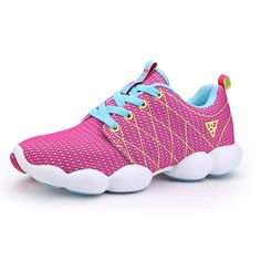 Sale 27% (27.69$) - New Women Casual Breathable Mesh Sneakers Mountaineering Run Sports Shoes