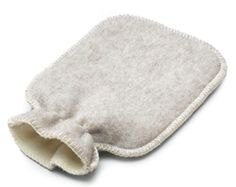 Pure New Wool Hot Water Bottle Cover from Manufactum I Remodelista