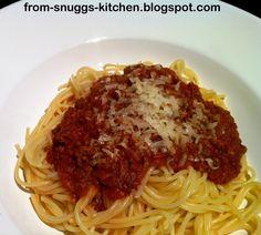 bolognese sauce / bolognese sosse