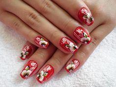 #nail #nails #nailart Nails & Co, Gel Nails, Acrylic Nails, Flower Nails, Nail Designs, Nail Art, Beauty, Ideas, Chic Nails