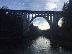 """Vihdoinkin löysin tämän upean Viaduct du Day sillan ja pääsin jopa kävelemään sen läpi!  Silta on ollut """"must see"""" listallani siitä lähtien kun muutimme tänne Sveitsiin!"""