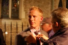 Laurence Fox - plays James Hathaway in the Inspector Lewis series on PBS.  I've a huge crush on his character.