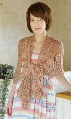 Crochet lacy shawl - free diagram pattern. open the 3rd underlined link on the left of the page to find the pattern.